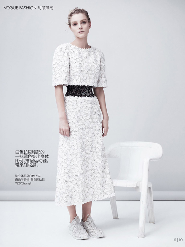 Jessica Stam Vogue China Collections Willy Vanderperre 06 Džesika Stem pozirala za kineski Vogue