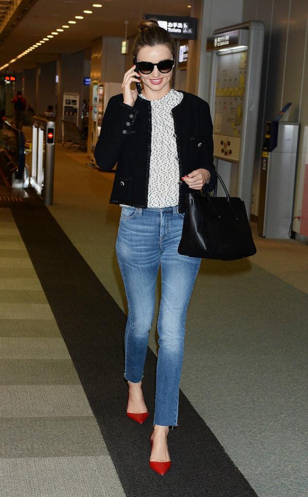 Miranda Airport fashion report: Poznate dame putuju sa stilom