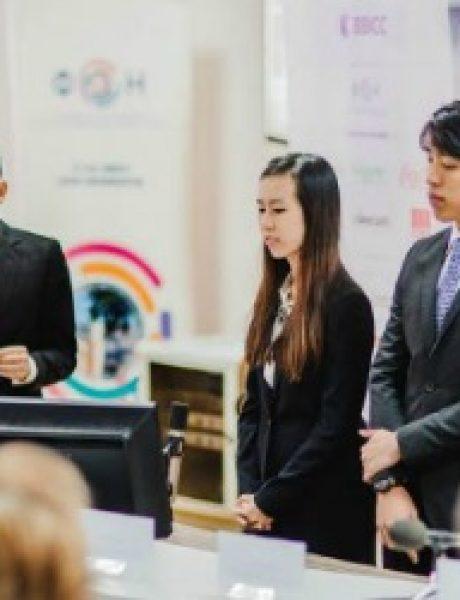 """Studenti iz celog sveta rešavali poslovnu studiju slučaja kompanije """"Danubius"""""""