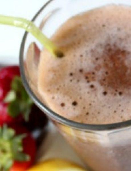 2 u 1 smoothie: Sok od jagode i limunada