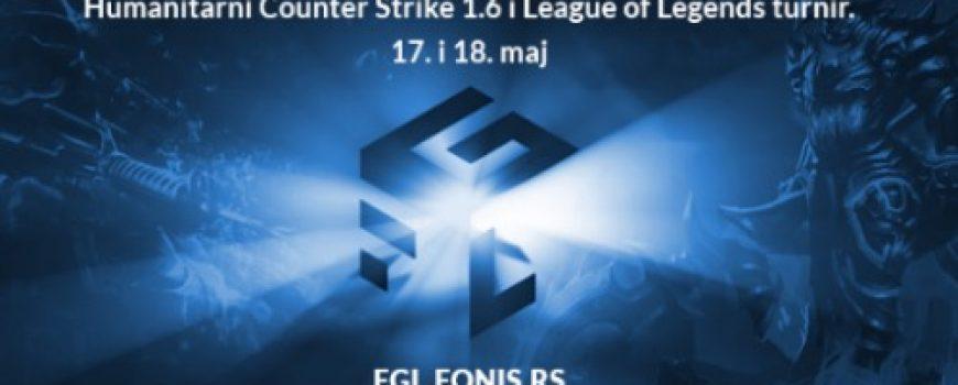 FONIS organizuje humanitarni gaming turnir FGL Belgrade