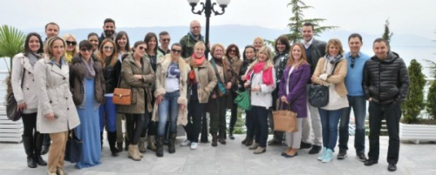 Nivea biseri leta: Prezentacija novih proizvoda za leto na press turi na Ohridu