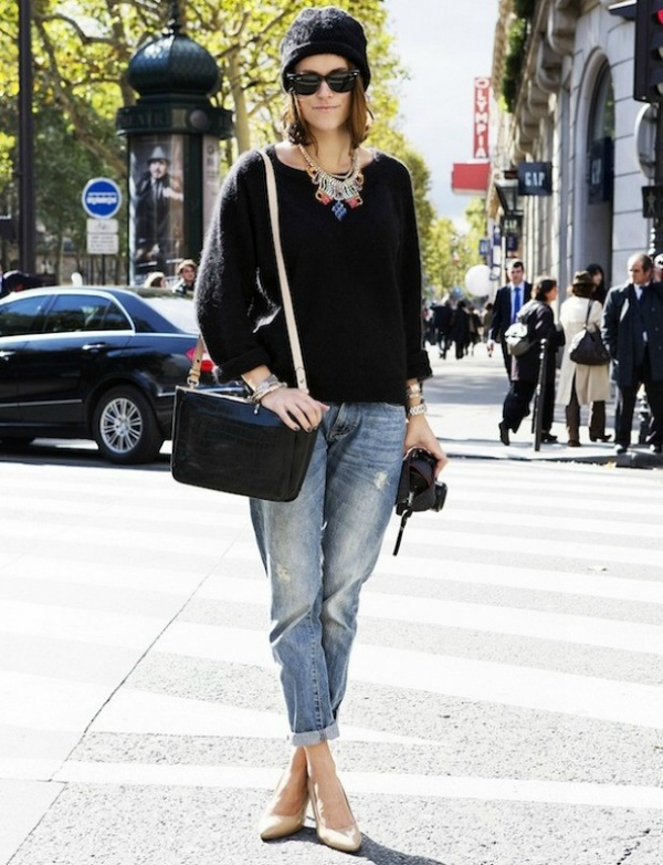 Osam Boyfriend jeans i šik cipele: Poželjna kombinacija i ove sezone