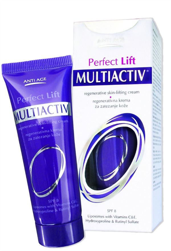 PerfectLiftZajedno Da vas koža ne pita za godine... Multiactiv Anti Age kolekcija
