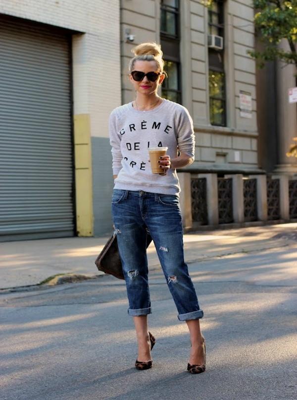 Pet Boyfriend jeans i šik cipele: Poželjna kombinacija i ove sezone