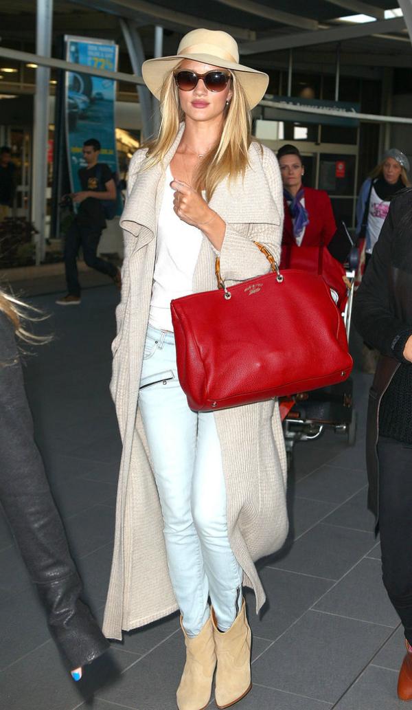 Rouzi Airport fashion report: Poznate dame putuju sa stilom