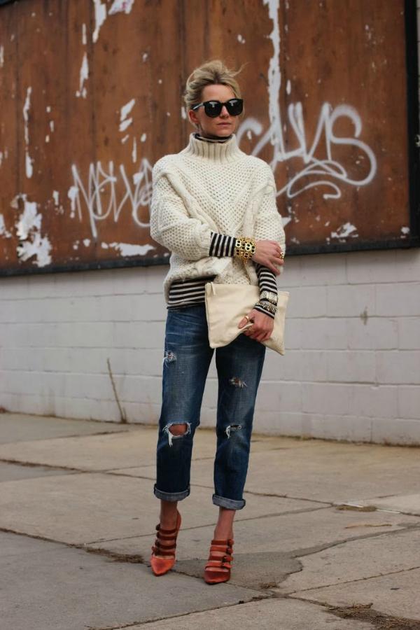 Sedam Boyfriend jeans i šik cipele: Poželjna kombinacija i ove sezone