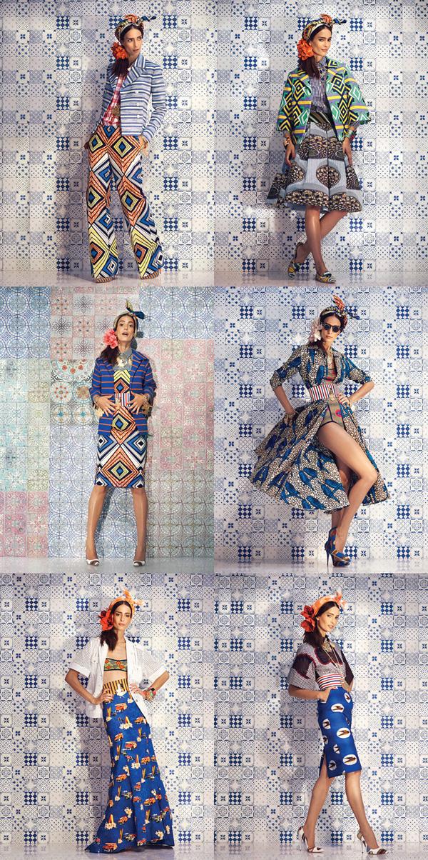 Stella Jean SS 2014 5 Stella Jean: Kolekcija za proleće 2014.