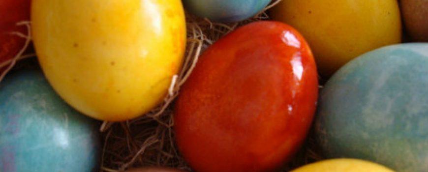 Farbanje jaja bojama iz prirode