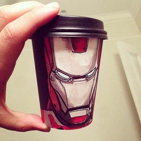 coffee cups 1 Najinteresantniji crteži na kafama
