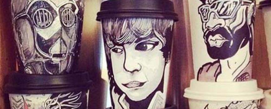 Najinteresantniji crteži na kafama