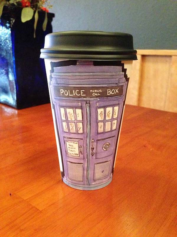 coffee cups 9 Najinteresantniji crteži na kafama