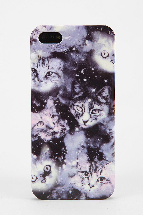 cosmic cats iPhone 55s case 16 equal parts creepy Mac mac maske za telefon