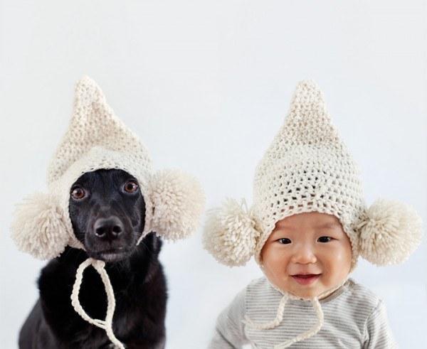 enhanced 28528 1397489117 8 Beba Džasper i njen pas Zoi: Najslađi blizanci na svetu