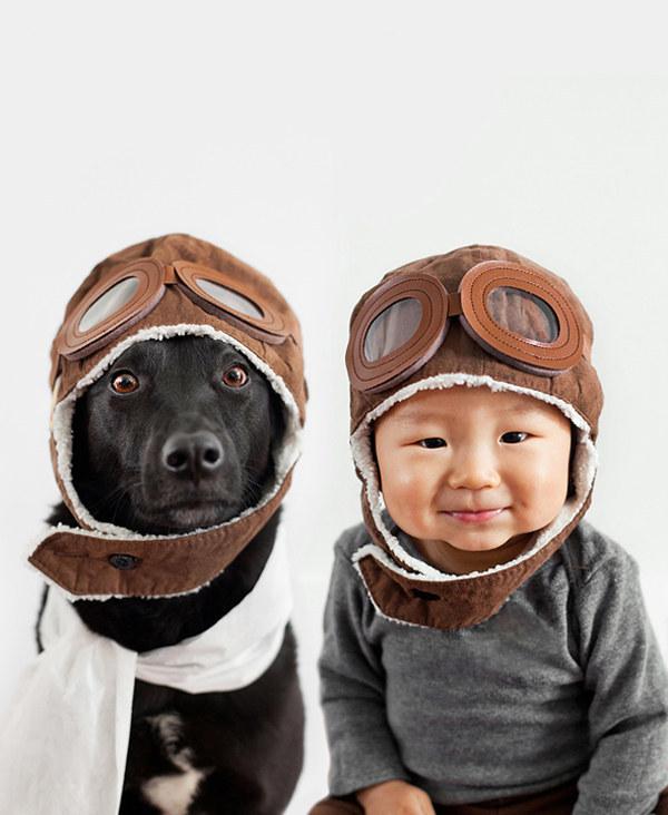 enhanced 28557 1397489116 7 Beba Džasper i njen pas Zoi: Najslađi blizanci na svetu