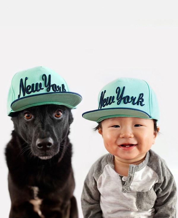 enhanced 31233 1397489116 12 Beba Džasper i njen pas Zoi: Najslađi blizanci na svetu