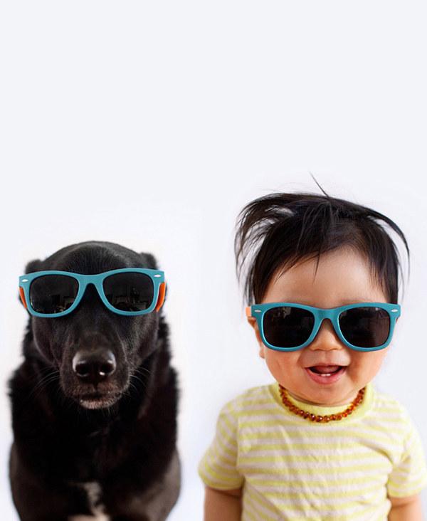enhanced 31745 1397489115 19 Beba Džasper i njen pas Zoi: Najslađi blizanci na svetu