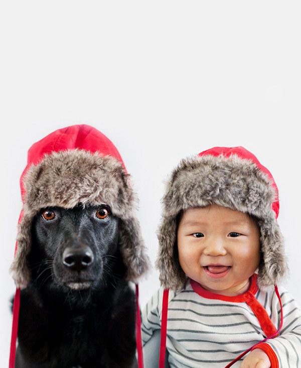 enhanced 32094 1397489117 41 Beba Džasper i njen pas Zoi: Najslađi blizanci na svetu