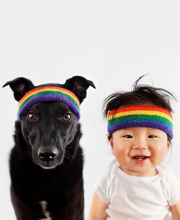 enhanced 738 1397489116 4 Beba Džasper i njen pas Zoi: Najslađi blizanci na svetu