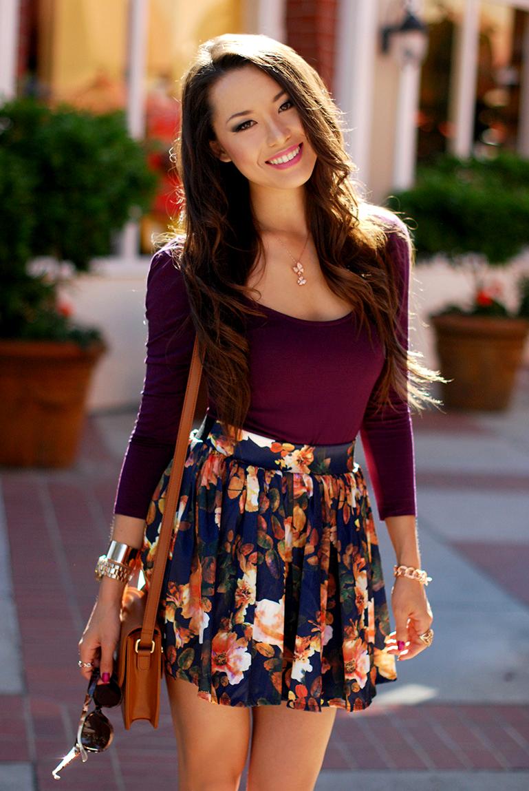 floralcircleskirtoutfit Deset suknji koje bi trebalo imati