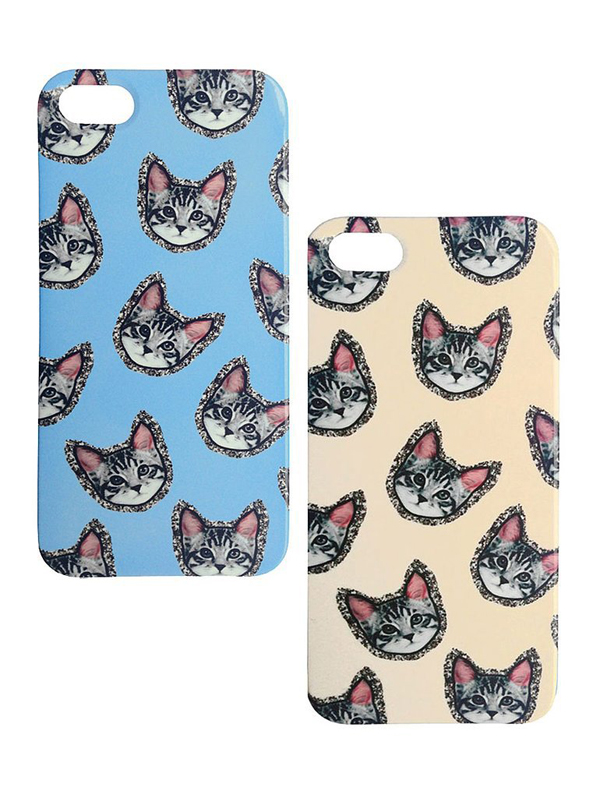 glitter detail around cats iPhone 5 cases 90 each Mac mac maske za telefon