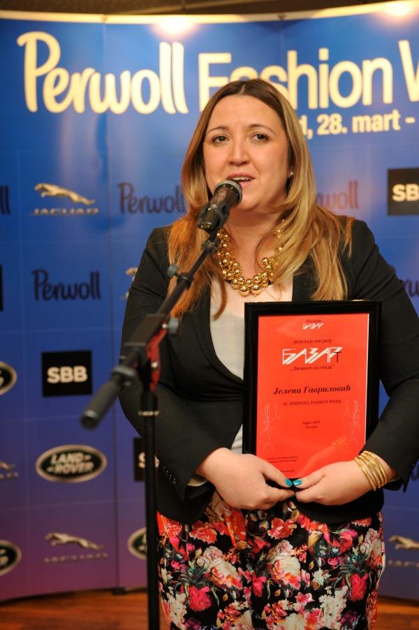 ivana filipovic Svečana dodela nagrada povodom završetka 35. Perwoll Fashion Weeka