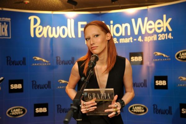 marina krtinic Svečana dodela nagrada povodom završetka 35. Perwoll Fashion Weeka