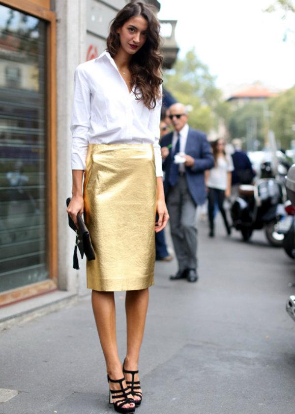 milan street style 787 Street Style: Uska suknja