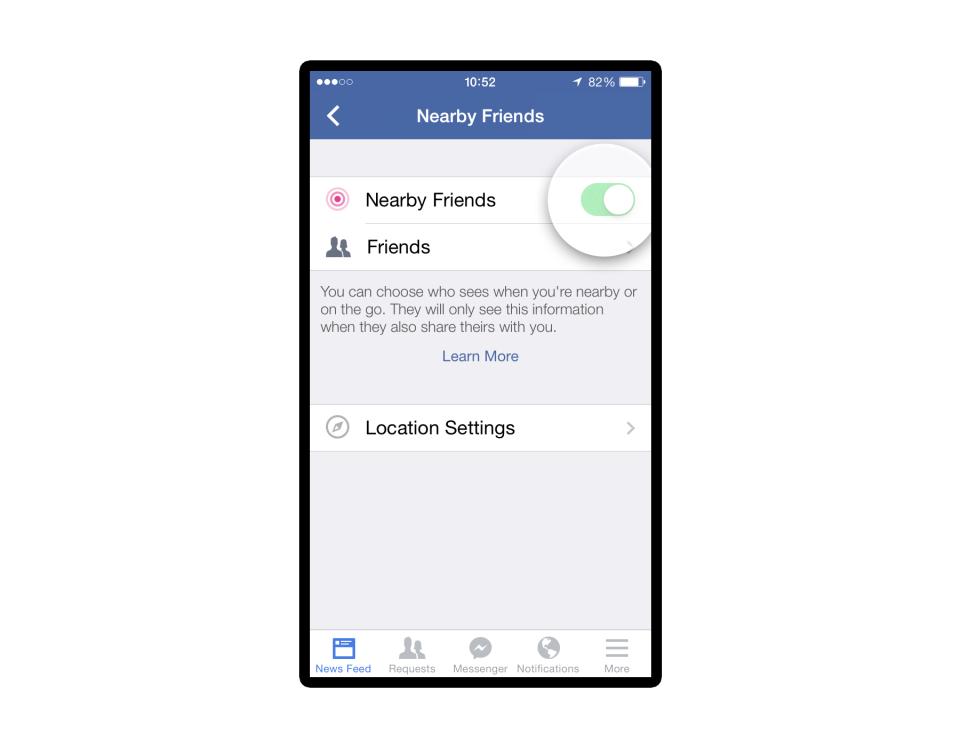 nearby friends press 2 Facebook ima novu aplikaciju: Ko ti je u blizini?