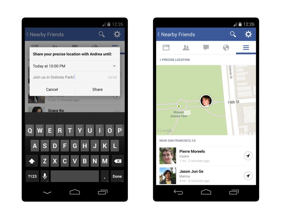 nearby friends press 3 Facebook ima novu aplikaciju: Ko ti je u blizini?
