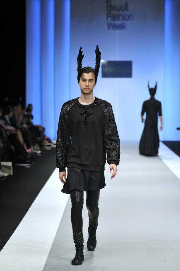 slika 9 35. Belgrade Fashion Week: Ivan Džolić, Marko Glavinić, ZLA ZLA
