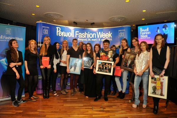 svi dobitnici Svečana dodela nagrada povodom završetka 35. Perwoll Fashion Weeka
