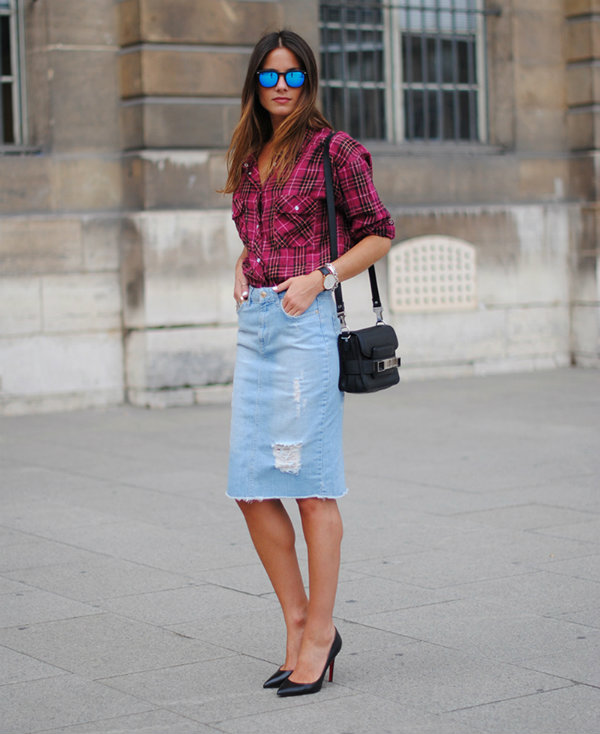 tres chic street style bloggers ed 5 4 Street Style: Uska suknja