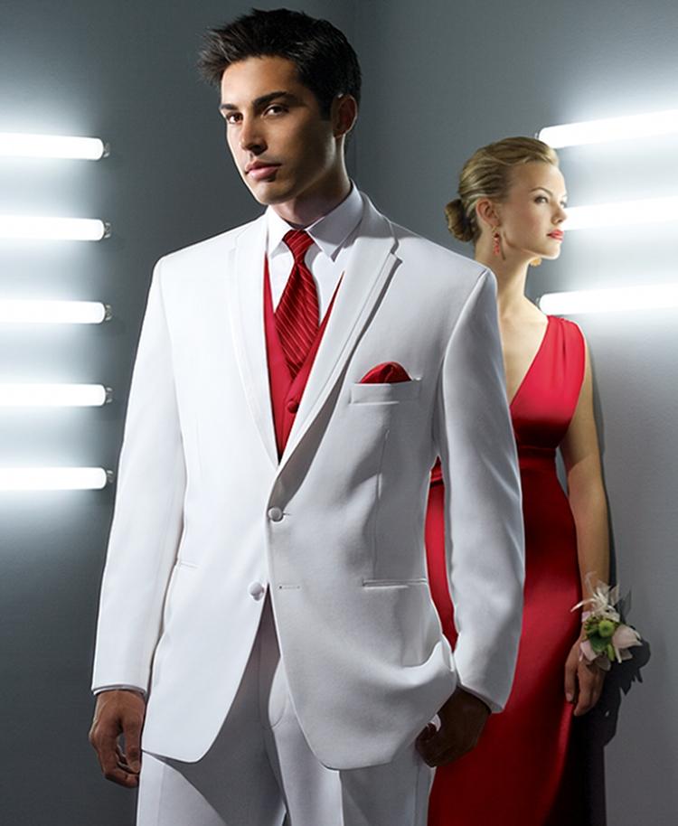 white la strada 2 button satin framed lapel tuxedo coat 742 Momci i moda: Šta obući za maturu?