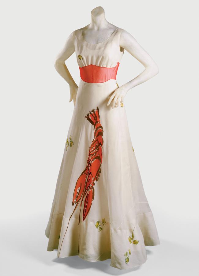 03 schiaparelli dali womans dinner dress 1937 Veliki umetnici: 15 razloga zbog kojih je Salvador Dali bio faca