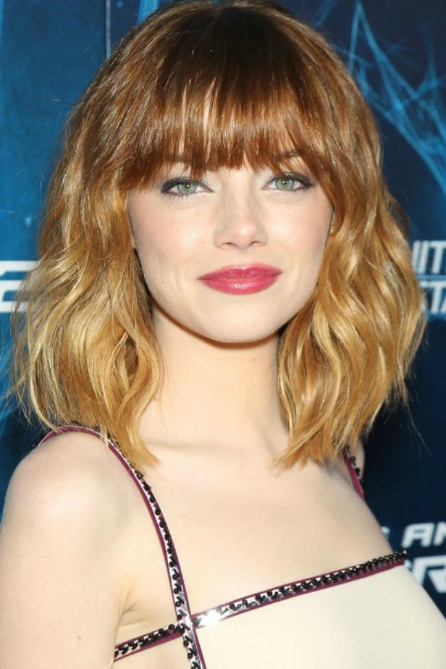 10 Emma Stone Novi stari beauty trend: Ombre efekat na kosi