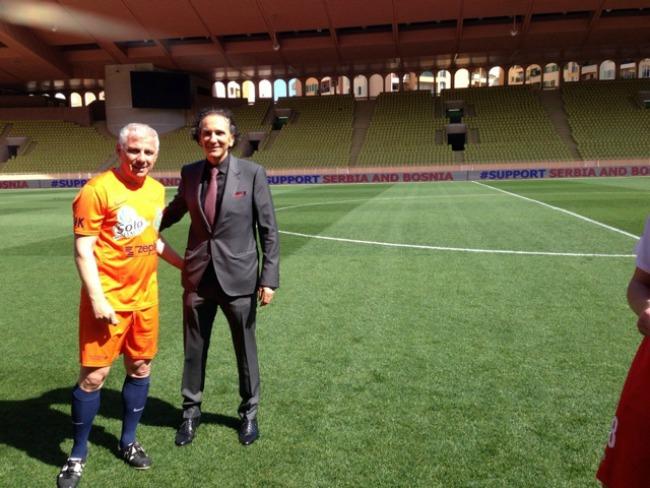 1130 Kad Nole igra fudbal: Humanitarne utakmice u Monaku