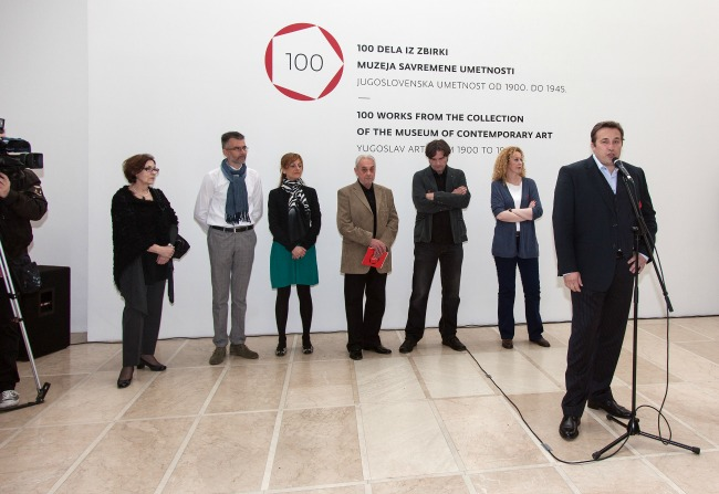 133 Velika izložba: 100 dela iz zbirki Muzeja savremene umetnosti