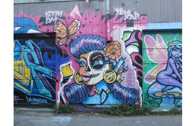 365 Umetnost na ulici: Murali koji su delo žena