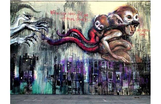 451 Umetnost na ulici: Murali koji su delo žena