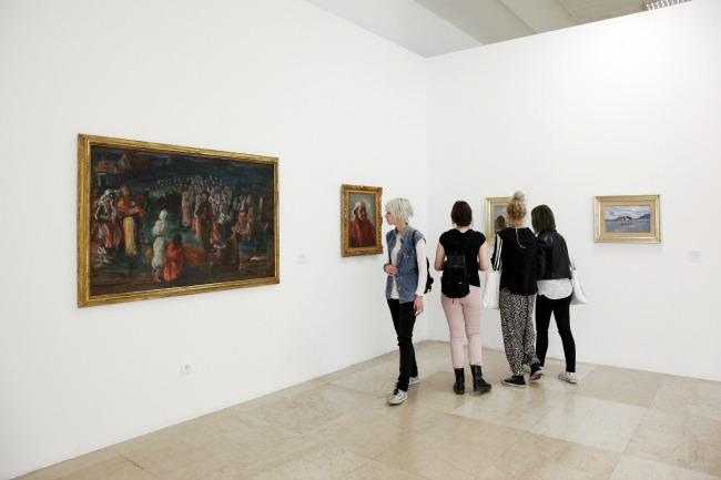 515 Velika izložba: 100 dela iz zbirki Muzeja savremene umetnosti
