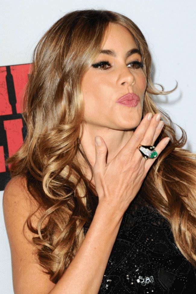 5 Sofia Vergara Novi stari beauty trend: Ombre efekat na kosi