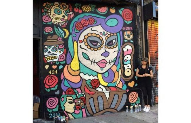 628 Umetnost na ulici: Murali koji su delo žena