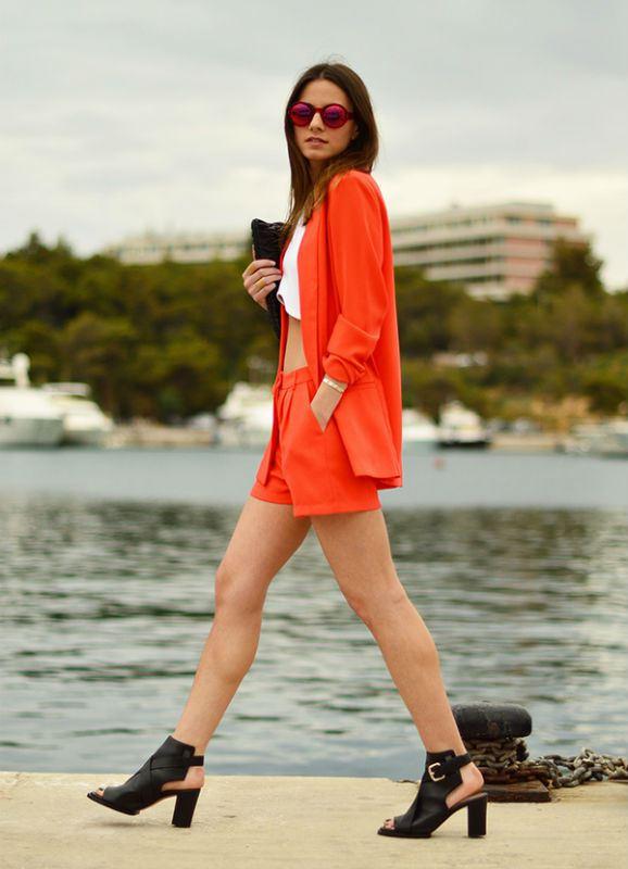 6 shorts suit Trend savet: Četiri načina da nosite šorts