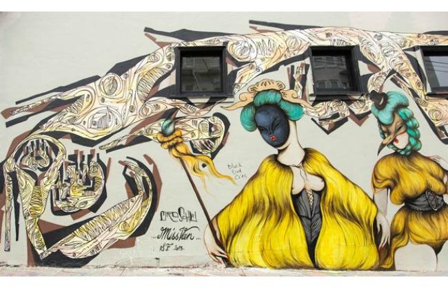 719 Umetnost na ulici: Murali koji su delo žena