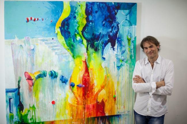 739 Wannabe intervju: Stevo Mandić, slikar