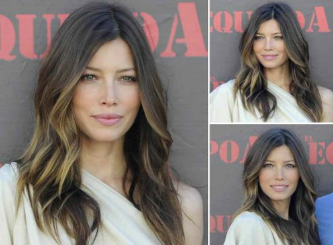 7 Jessica Biel Novi stari beauty trend: Ombre efekat na kosi