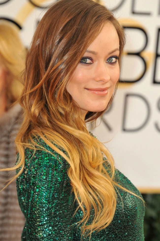 9 Olivia Wilde Novi stari beauty trend: Ombre efekat na kosi