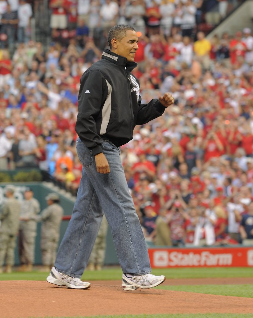 Barack Obama 80th MLB All Star Game Modni Comeback: Kevine farmerke