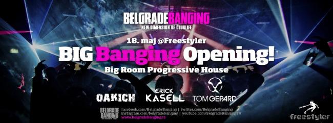 Big Banging Opening Belgrade Banging, najbolji party brend otvara letnju sezonu!